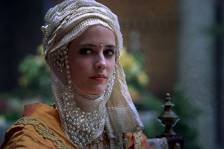 Princess Sybilla of Jerusalem, yang mengenakan hijab (kingdom of heaven movie)